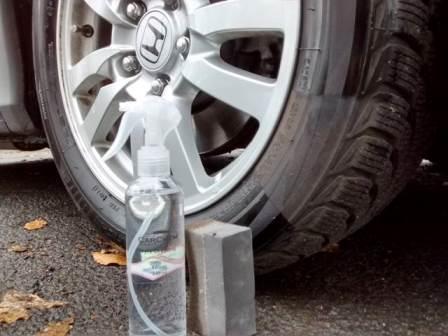 CarChem Tyre Dressing Czernidło do opon