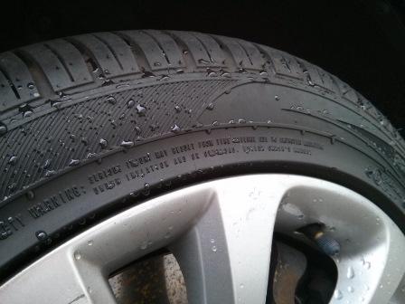 CarChem Tyre Dressing 12 dni po aplikacji - konserwacja opon